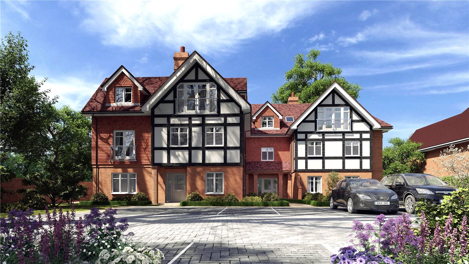 Rushmon Homes,Crossrail,Front Elevation