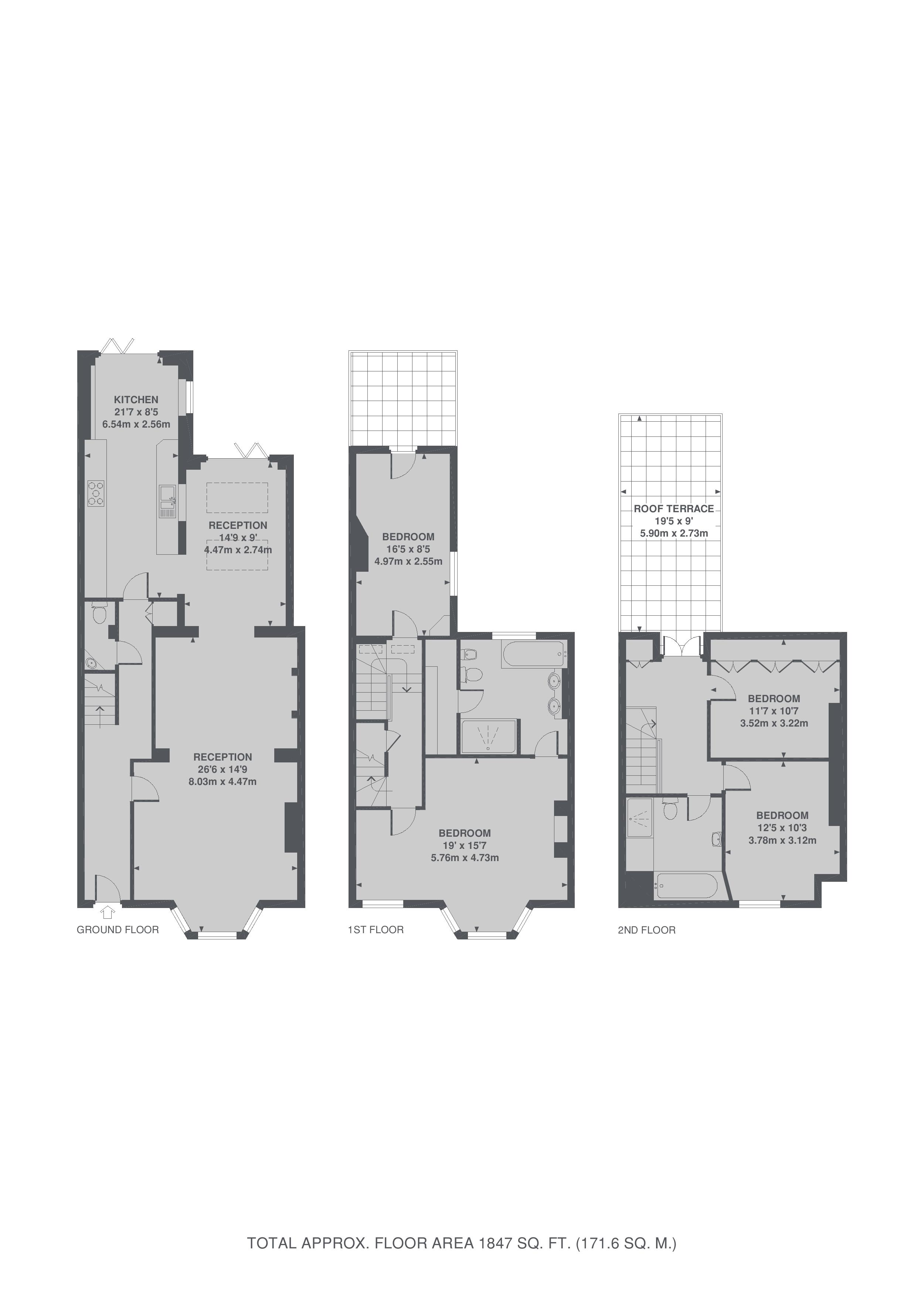 4 bed property for sale in marlborough crescent london w4 for Marlborough house floor plan