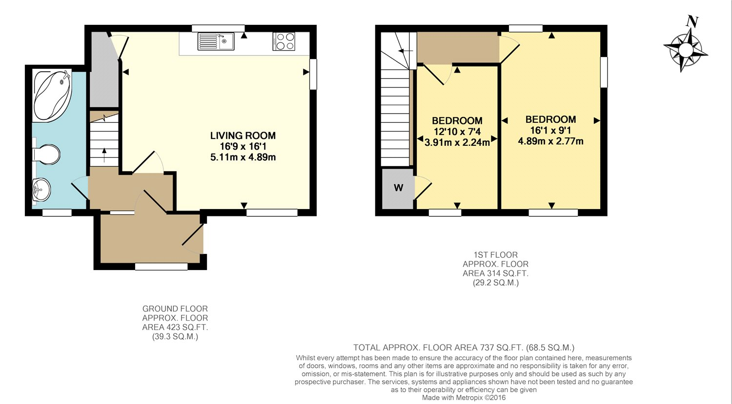 West street dorking surrey rh4 2 bedroom semi detached for Semi attached house plans