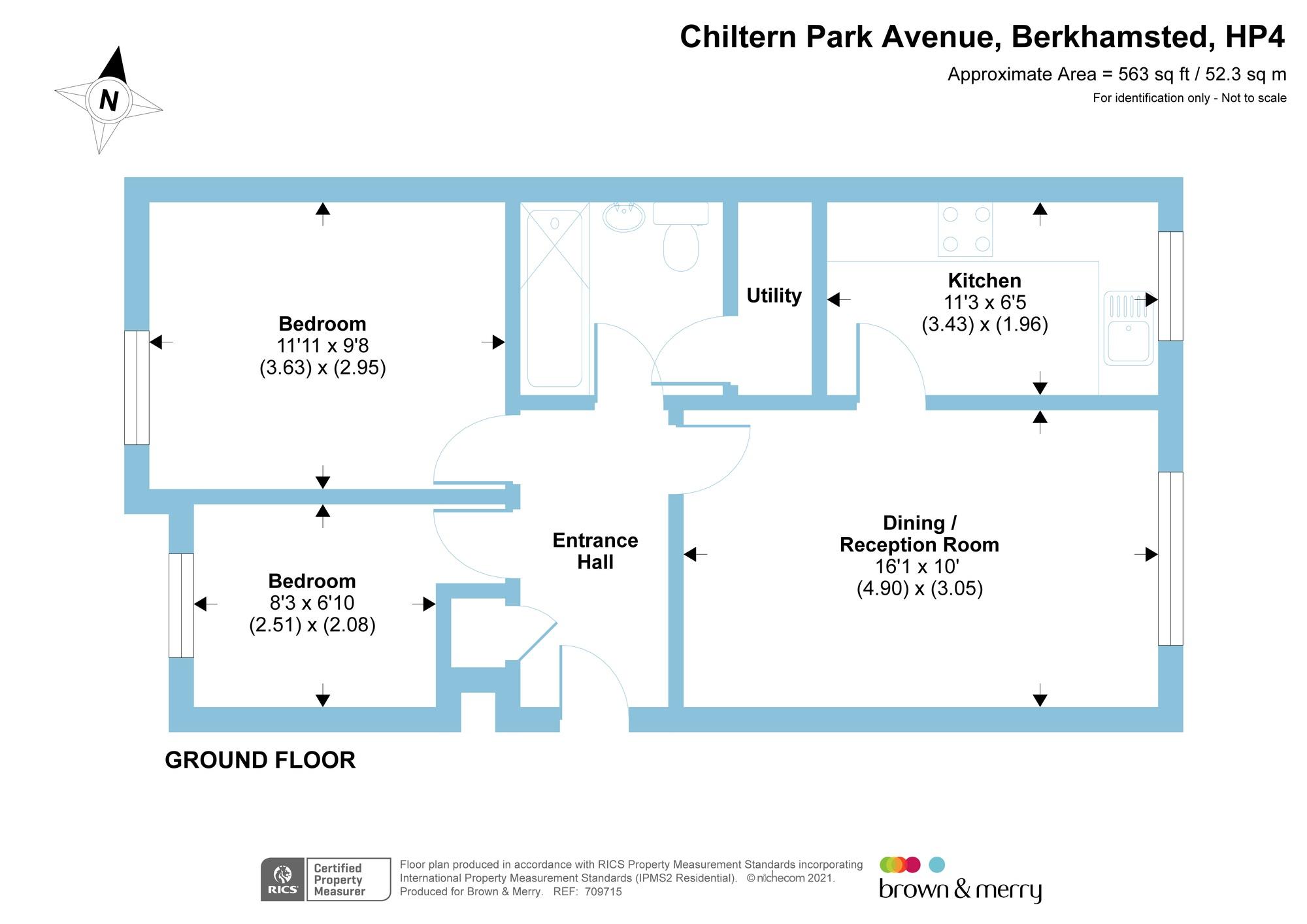 Chiltern Park Avenue Berkhamsted Hp4 2 Bedroom Flat For Sale 58263541 Primelocation