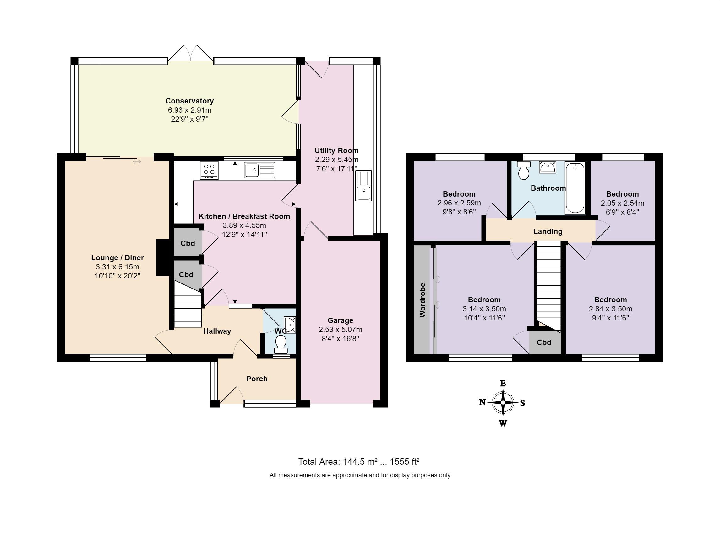 Cammel Road West Parley Ferndown Bh22 4 Bedroom