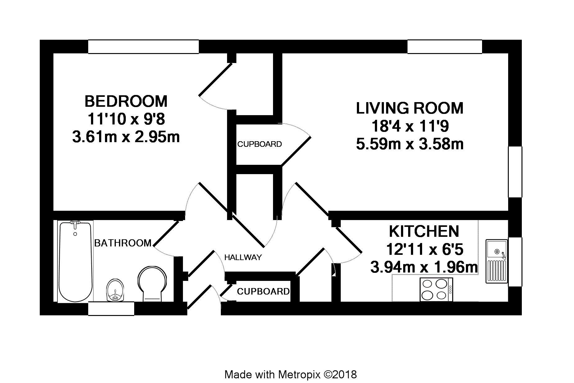 Bath Taps Shower Attachment Inchwood Bracknell Rg12 1 Bedroom Maisonette For Sale