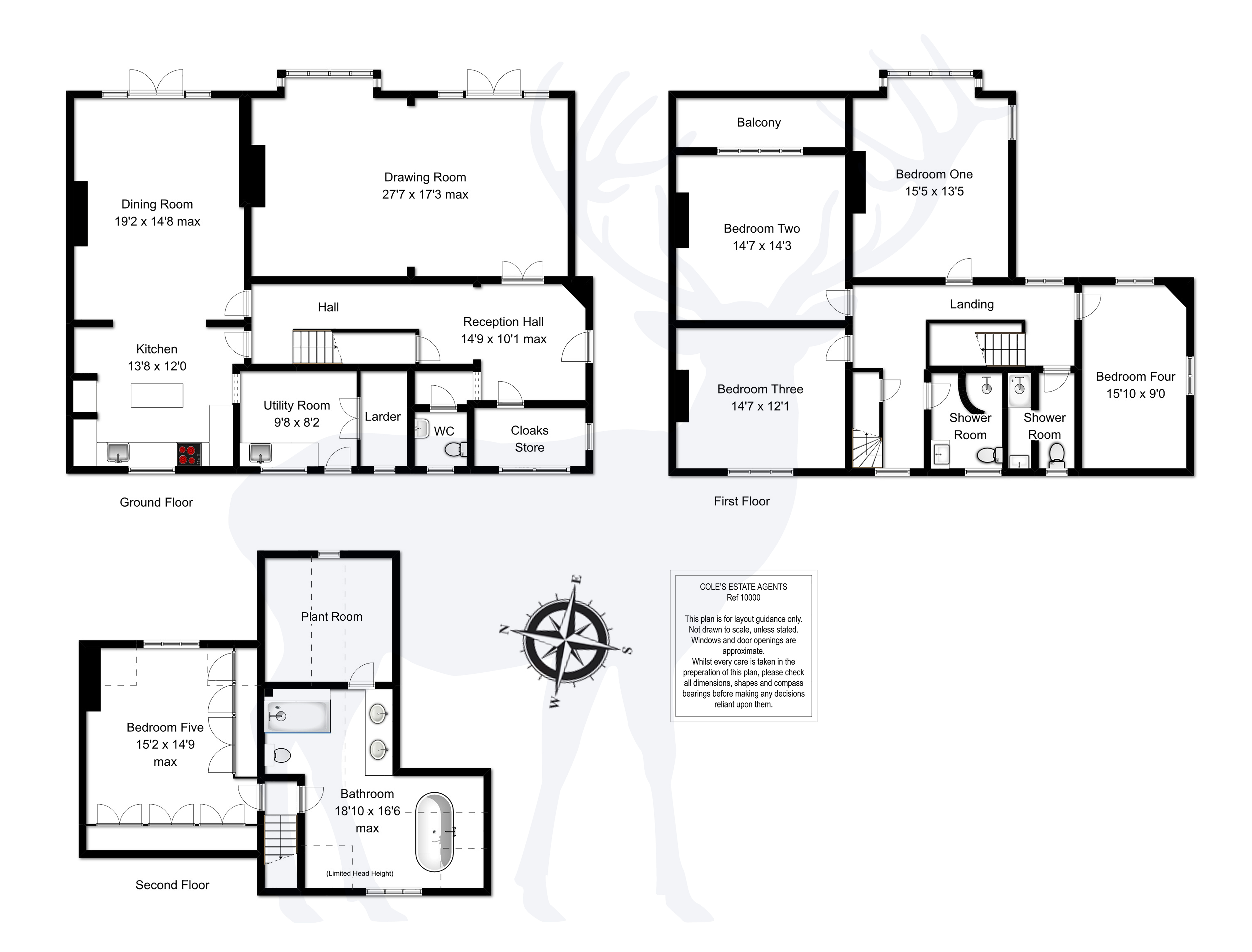 5 Bed Semi Detached House For Sale In College Lane East Grinstead Natwest Wiring Instructions Floorplan 1