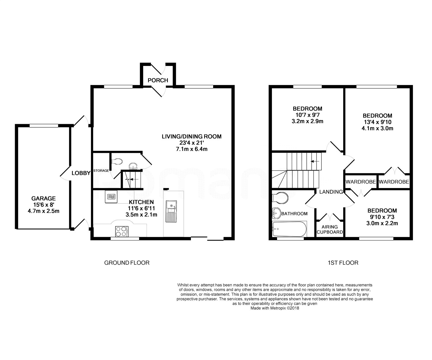 Gatwick Airport Floor Plan Abingdon Drive Caversham Reading Rg4 3 Bedroom Link