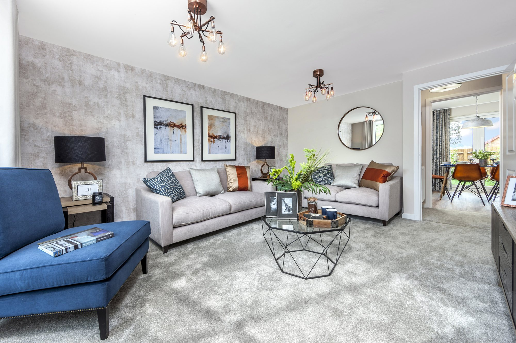 """3 bedroom semi detached house for sale in """"Archford"""" at Tranby Park"""