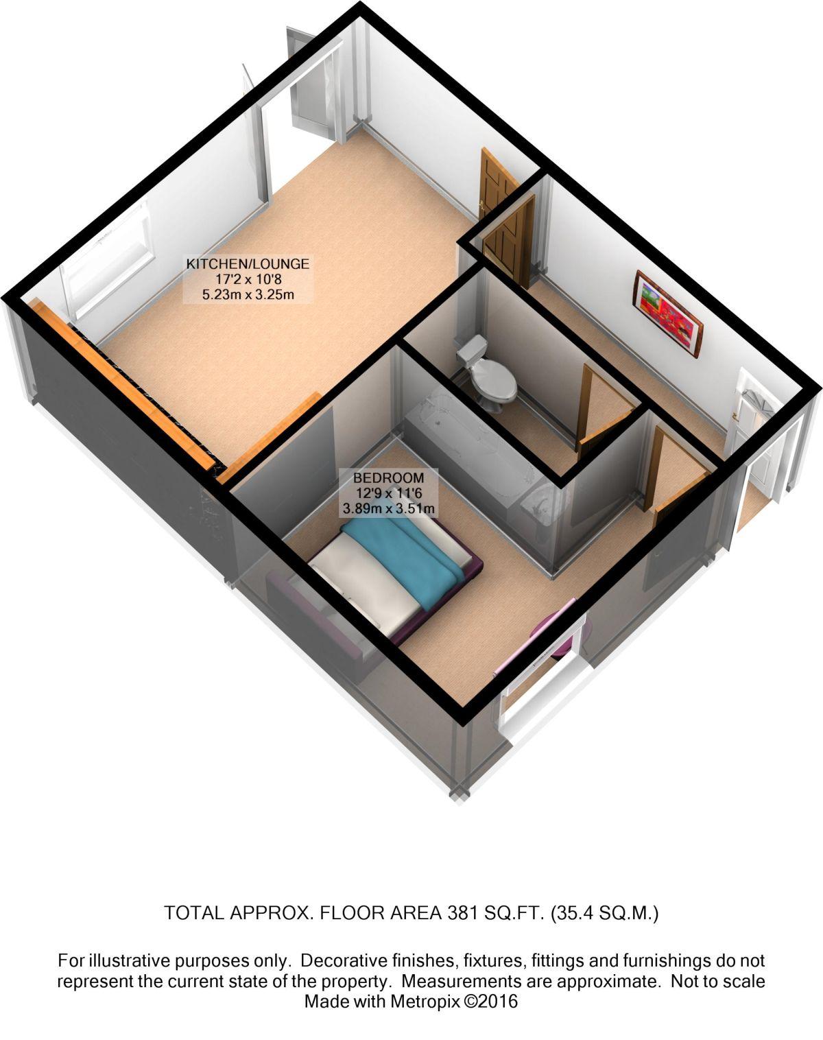 Clarendon Road Southsea Po4 1 Bedroom Flat To Rent