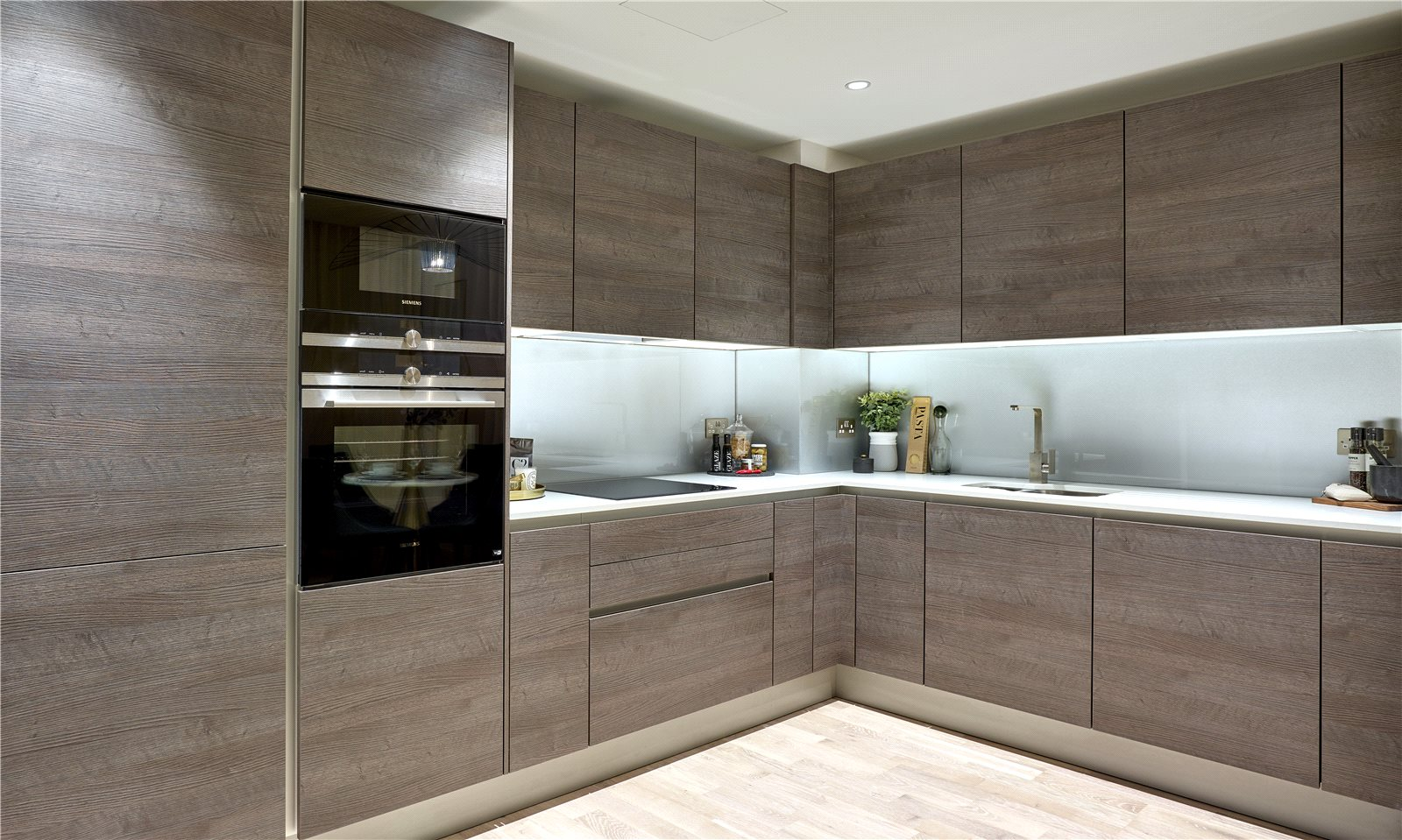 Onyx Apartments,Taylor Wimpey,Siemens,Kitchen