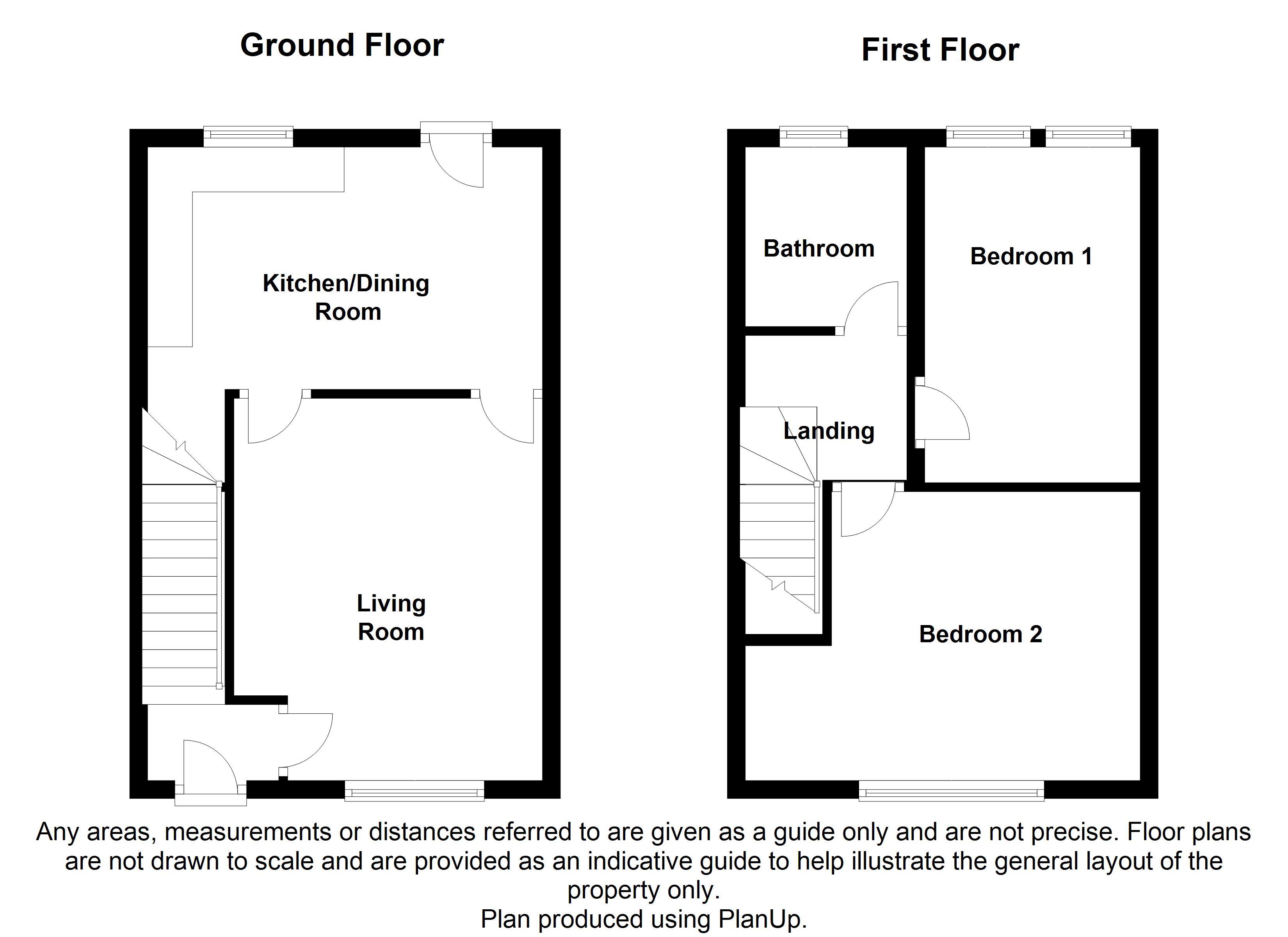 Wordsworth avenue sheffield s5 2 bedroom terraced house for Sheffield floor plan