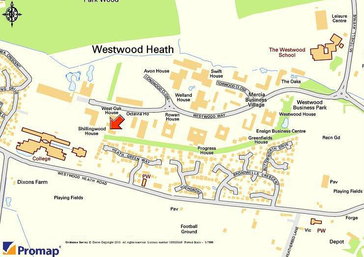 Office To Let In Shillingwood House Westwood Way