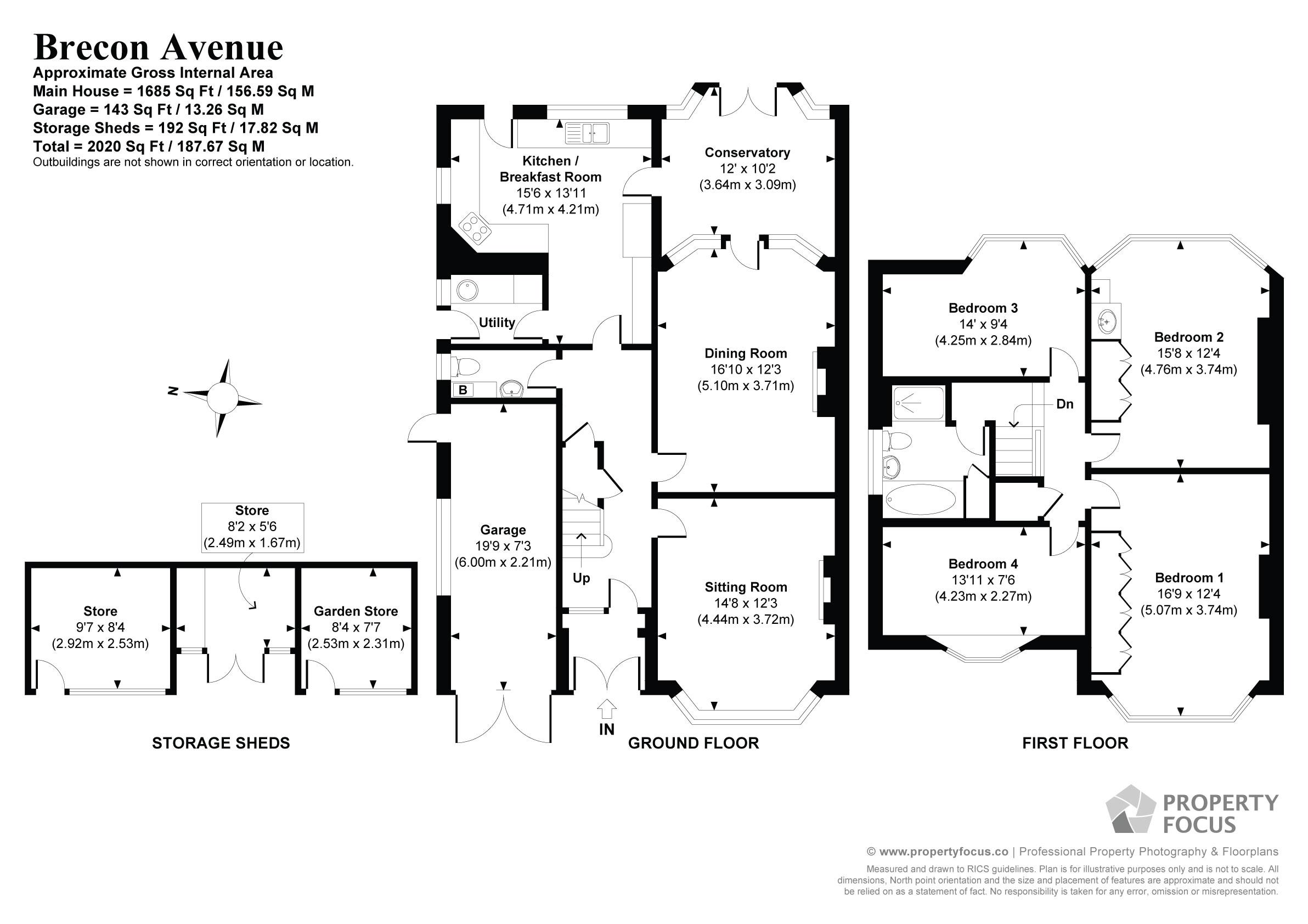 Brecon Avenue, Drayton, Portsmouth PO6, 4 bedroom semi