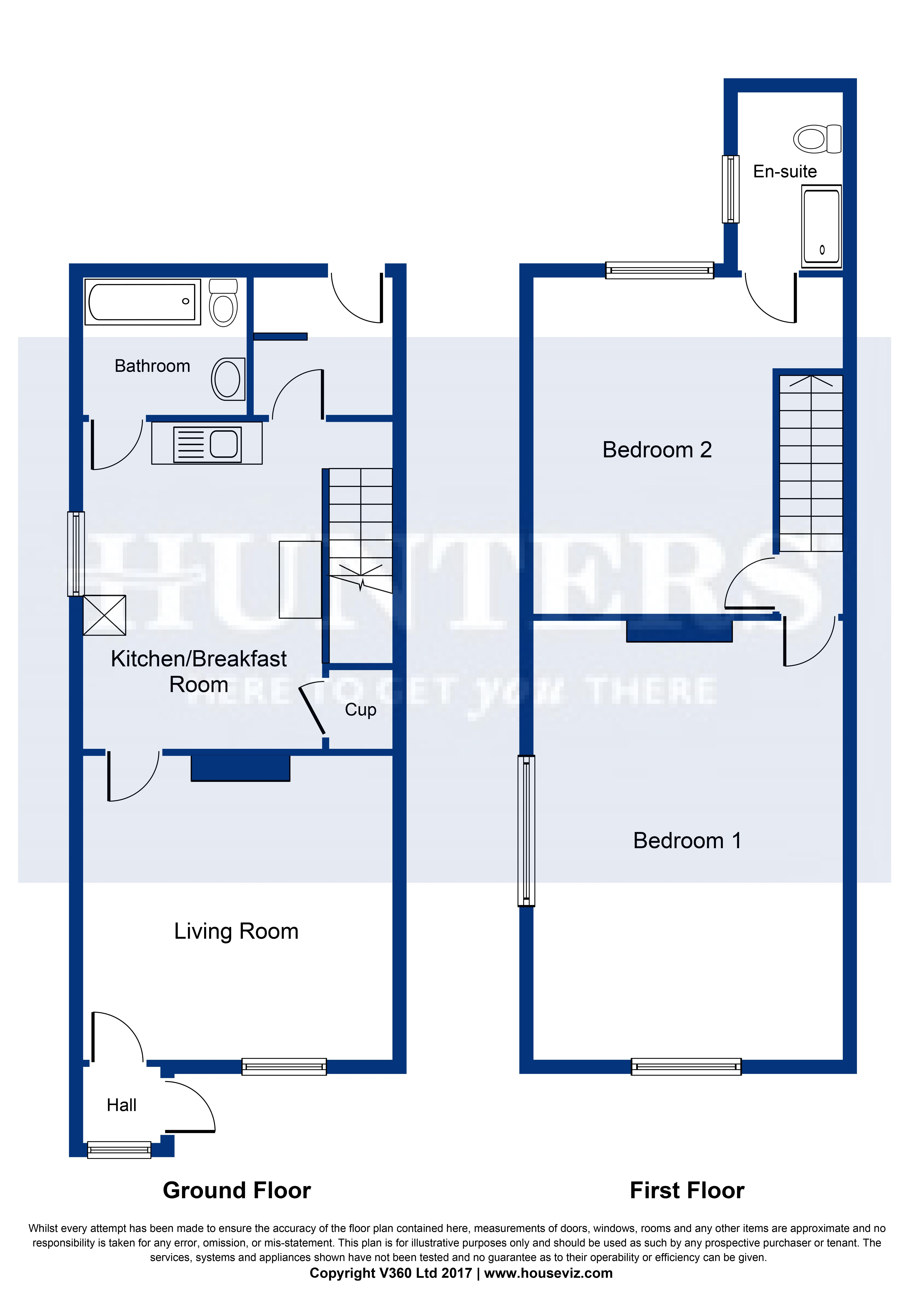 2 bed end terrace house for sale in queens place mill for 11242 mill place terrace