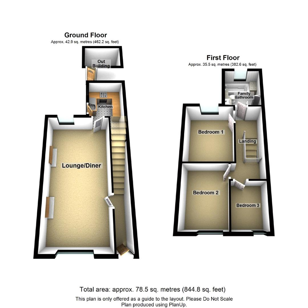 3 Bedrooms Semi-detached house for sale in North Park, Dale Road North, Darley Dale DE4