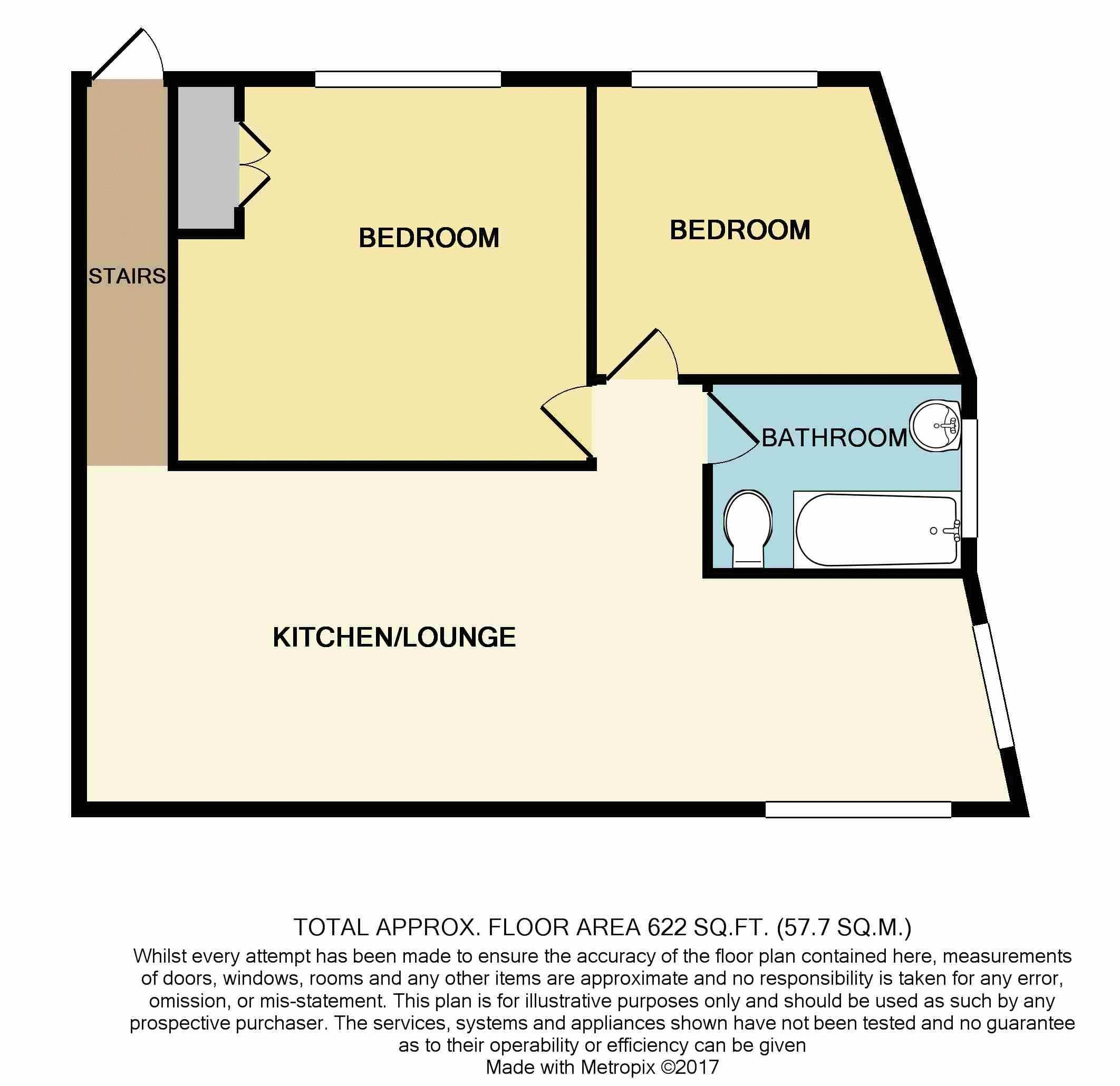 2 Bedroom Flat For Sale 45847329 Primelocation