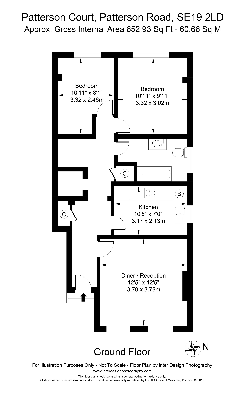 2 Bedroom Flat For Sale In Patterson Road Se19 London