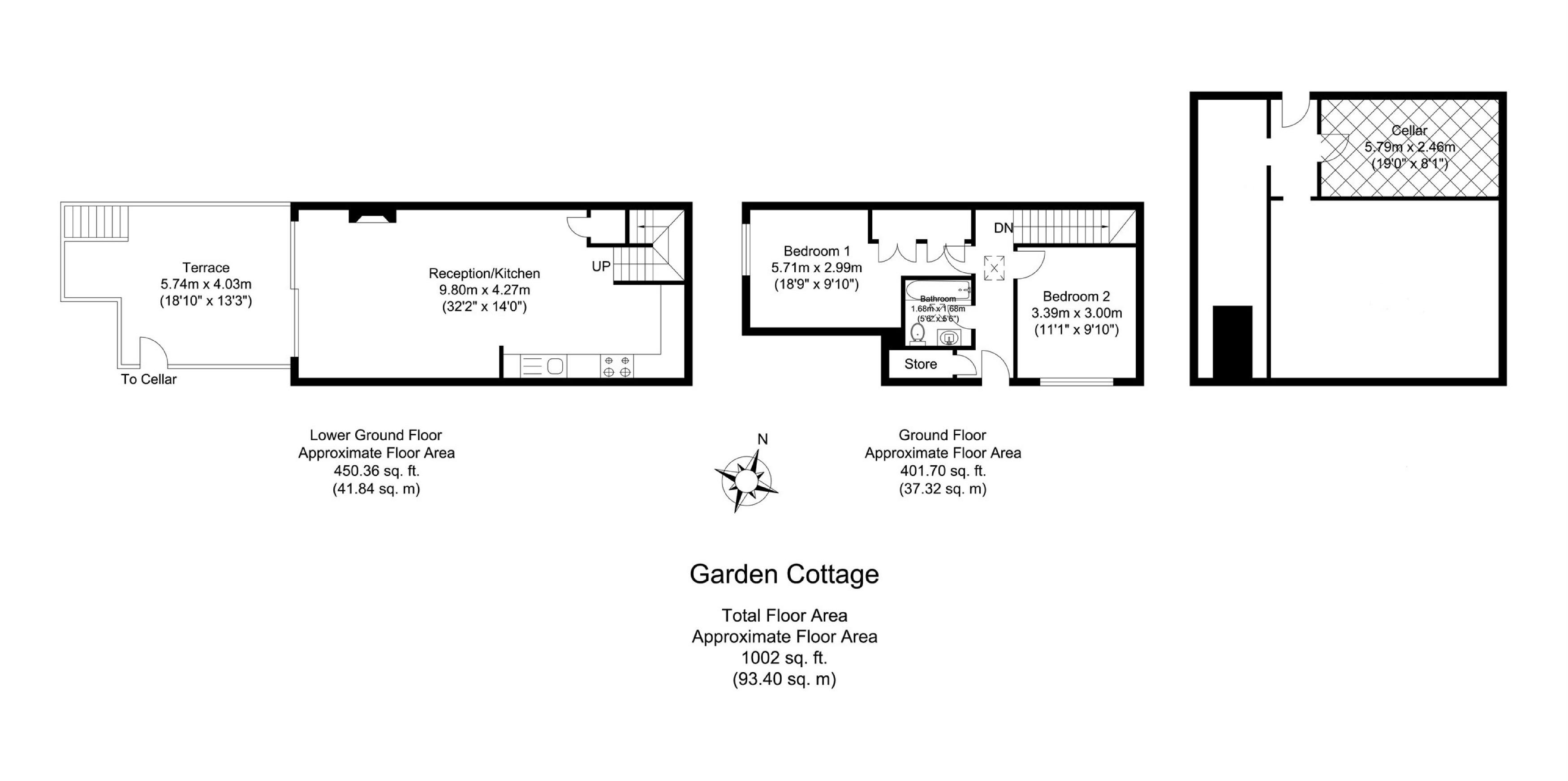 2 Bedrooms Cottage for sale in Totteridge Park, Totteridge Common, London N20