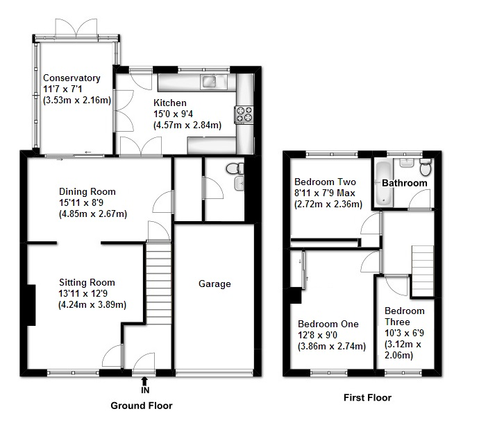 Property For Sale In Hookhams Path Wollaston Northamptonshire