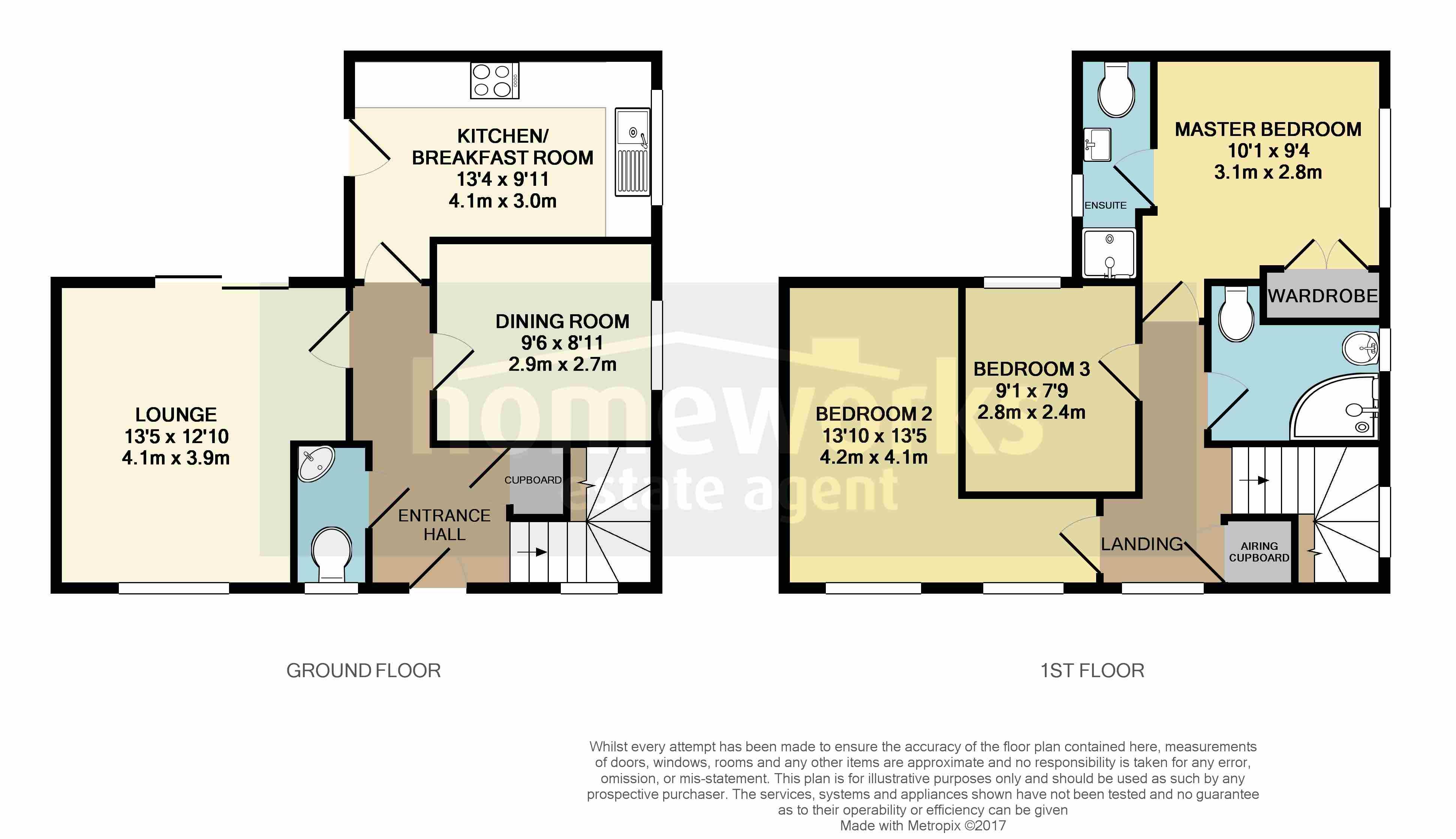 Swan Road Dereham NR19 3 Bedroom Semi Detached House For