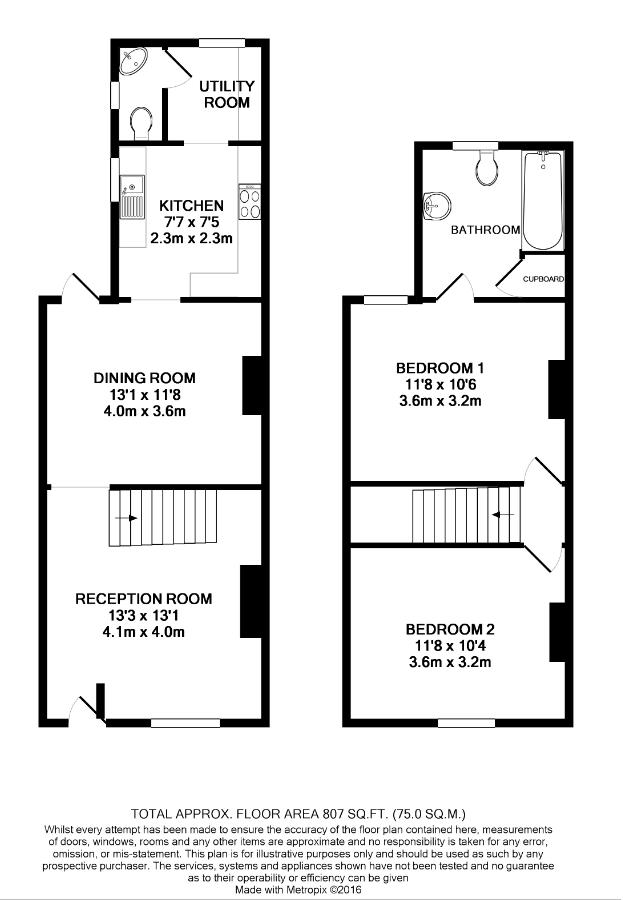 Victorian Terraced House Floor Plan Thefloors Co