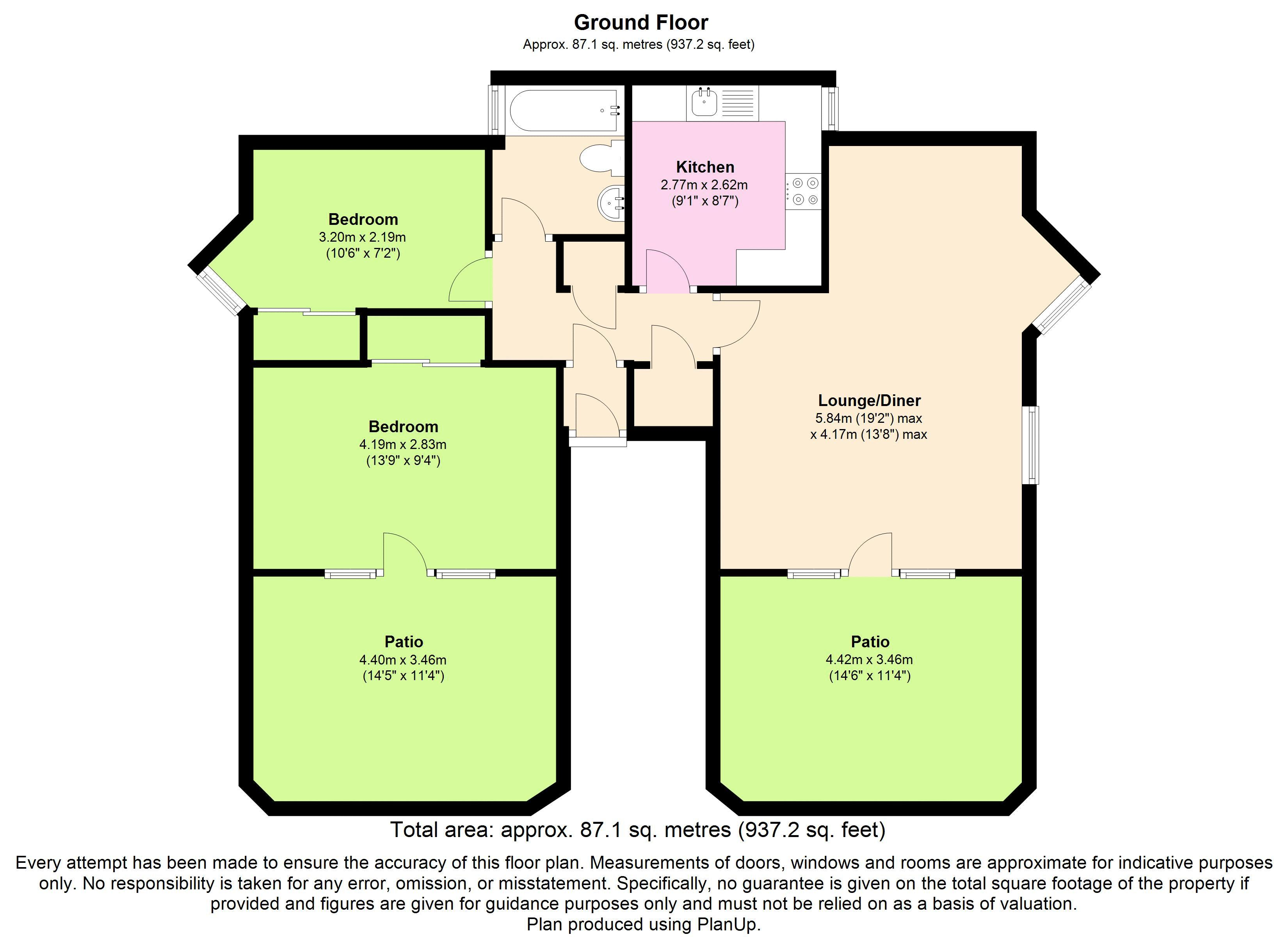 2 bed flat for sale in alfredston place wantage ox12 45837720 zoopla. Black Bedroom Furniture Sets. Home Design Ideas