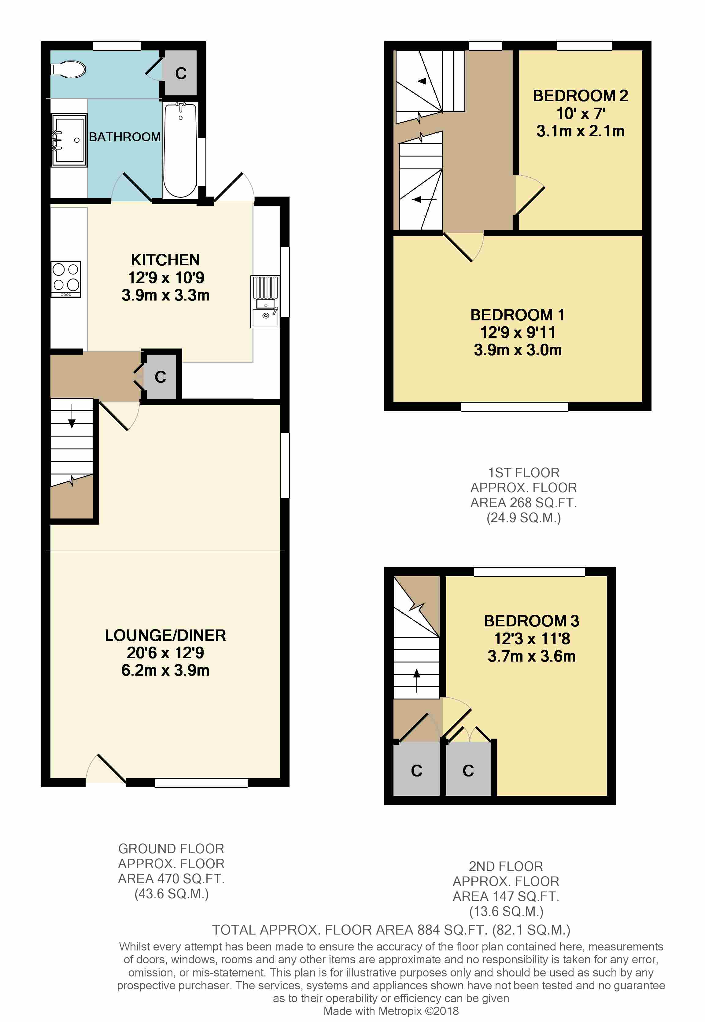 3 Bedrooms Semi-detached house for sale in Castle Street, Bletchingley, Redhill RH1