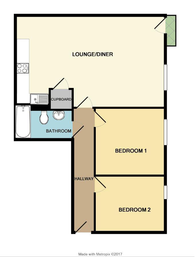 Lawford Mews Waterloo Road Bristol Bs2 2 Bedroom Flat
