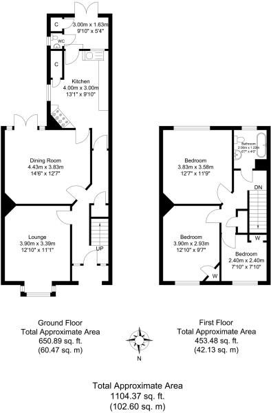 3 Bedroom Terraced House For Sale 45727840 Primelocation