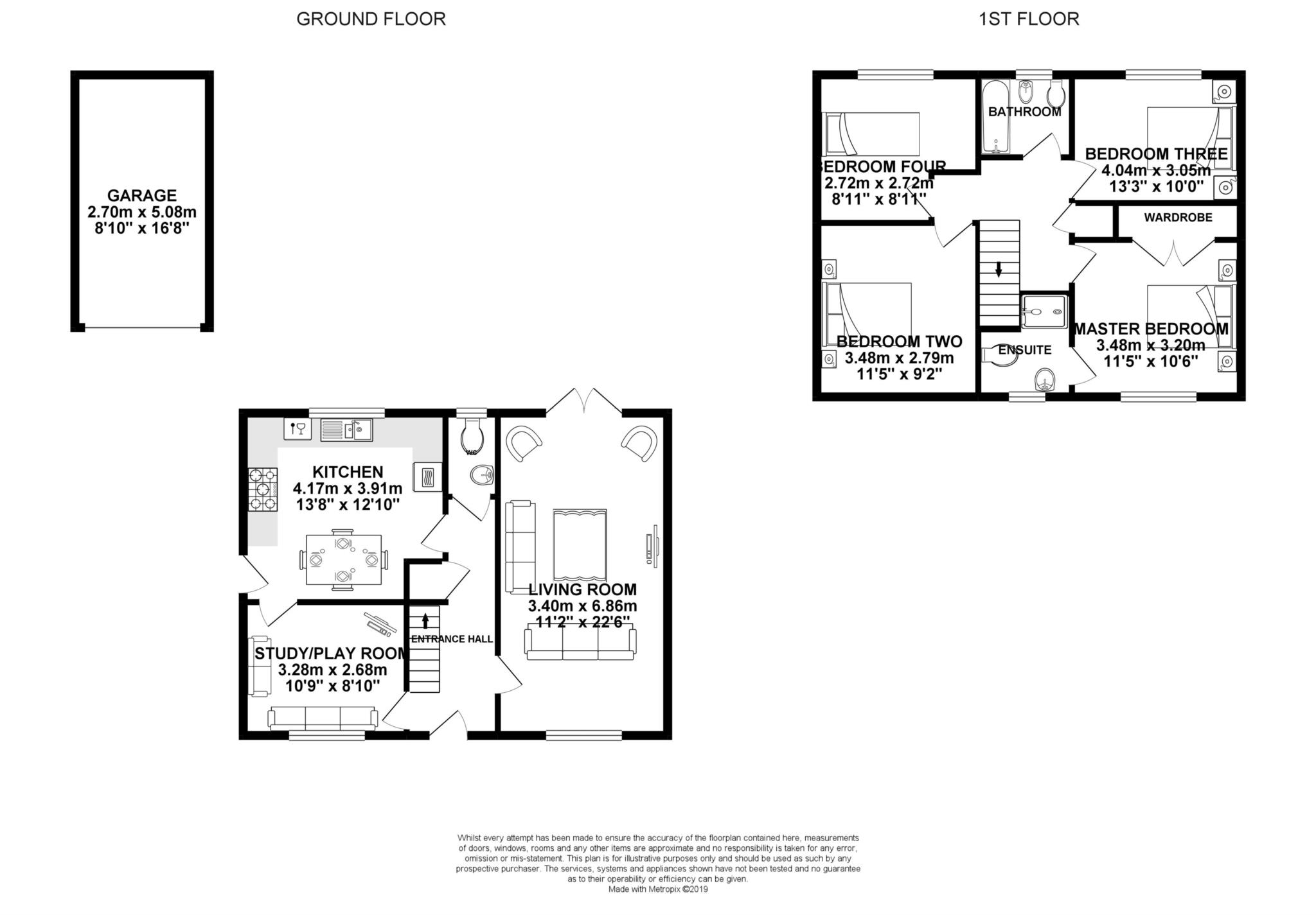 4 Bedrooms Detached house for sale in Guillemot Street, Bracknell RG12