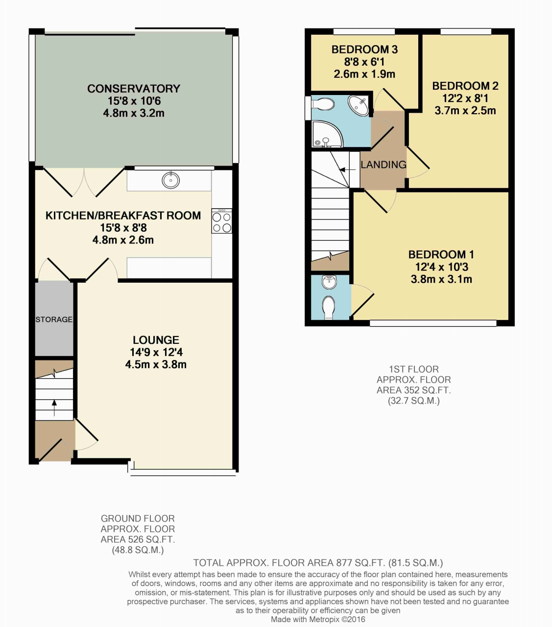 Latham lane orrell wigan wn5 3 bedroom semi detached for 16 brookers lane floor plans