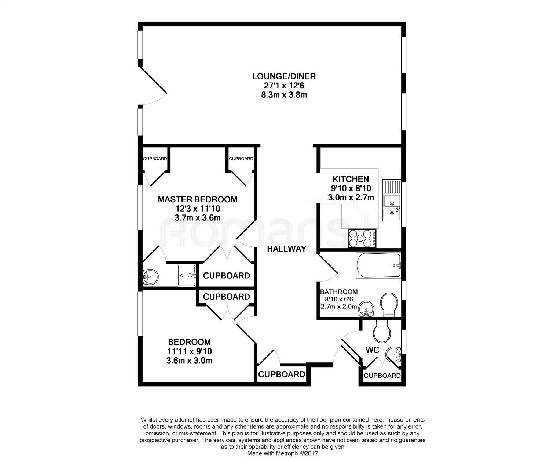 Grosvenor Drive Maidenhead Sl6 2 Bedroom Flat To Rent 43124350 Primelocation