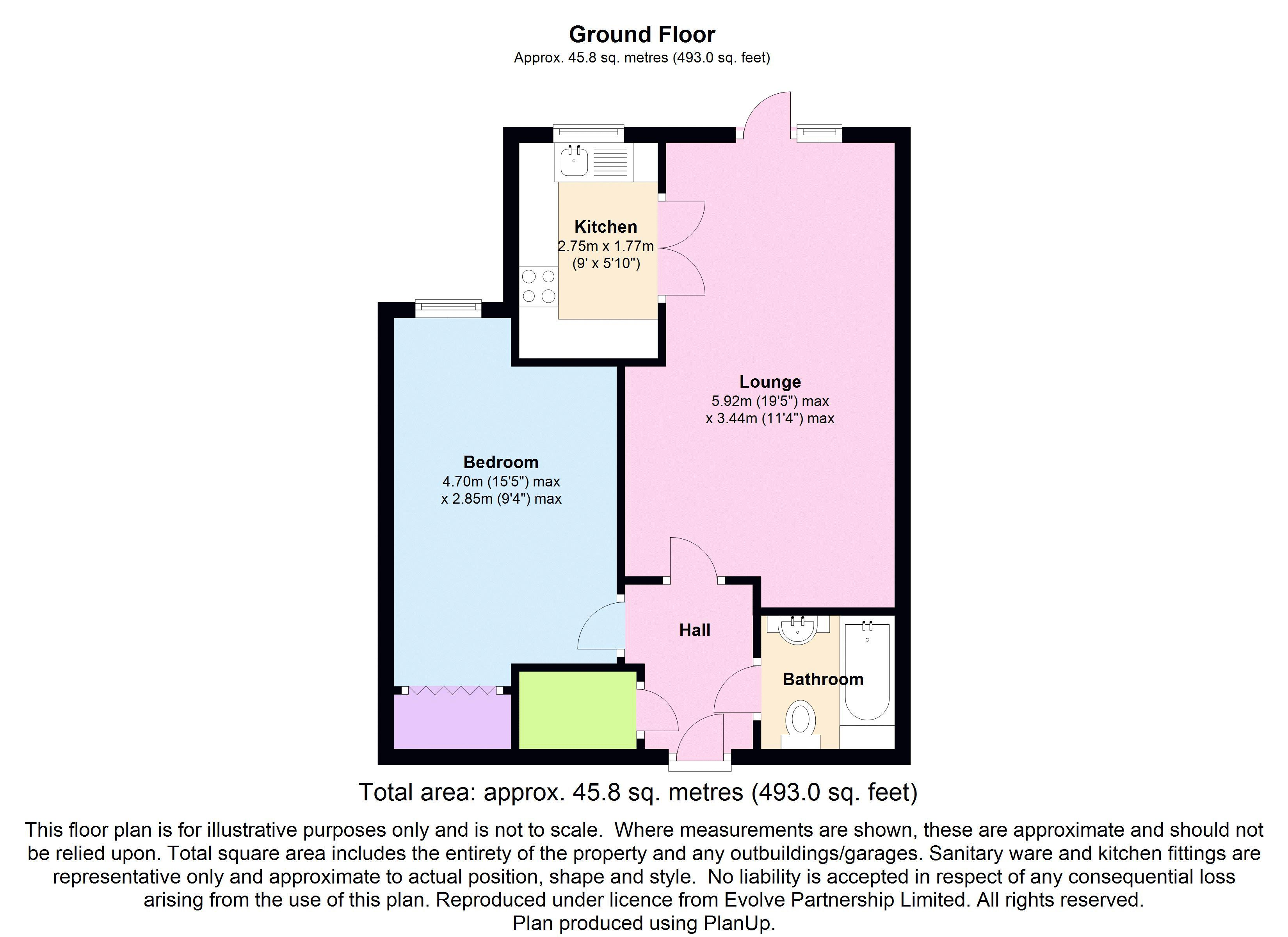 1 Bedroom Flat For Sale 46250198 Primelocation