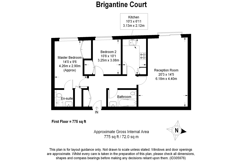 2 Bedroom Flat For Sale In Spert Street E14 London