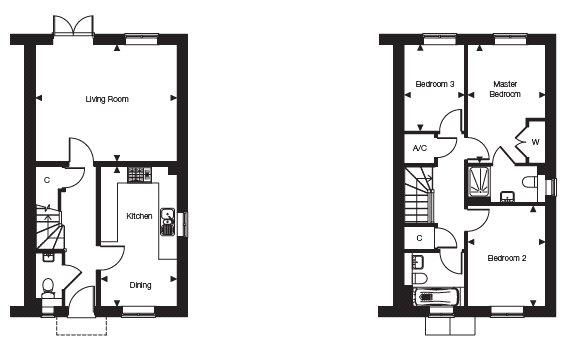 3 Bedrooms Semi-detached house for sale in Fleet Road, Hartley Wintney, Hook, Hampshire RG27