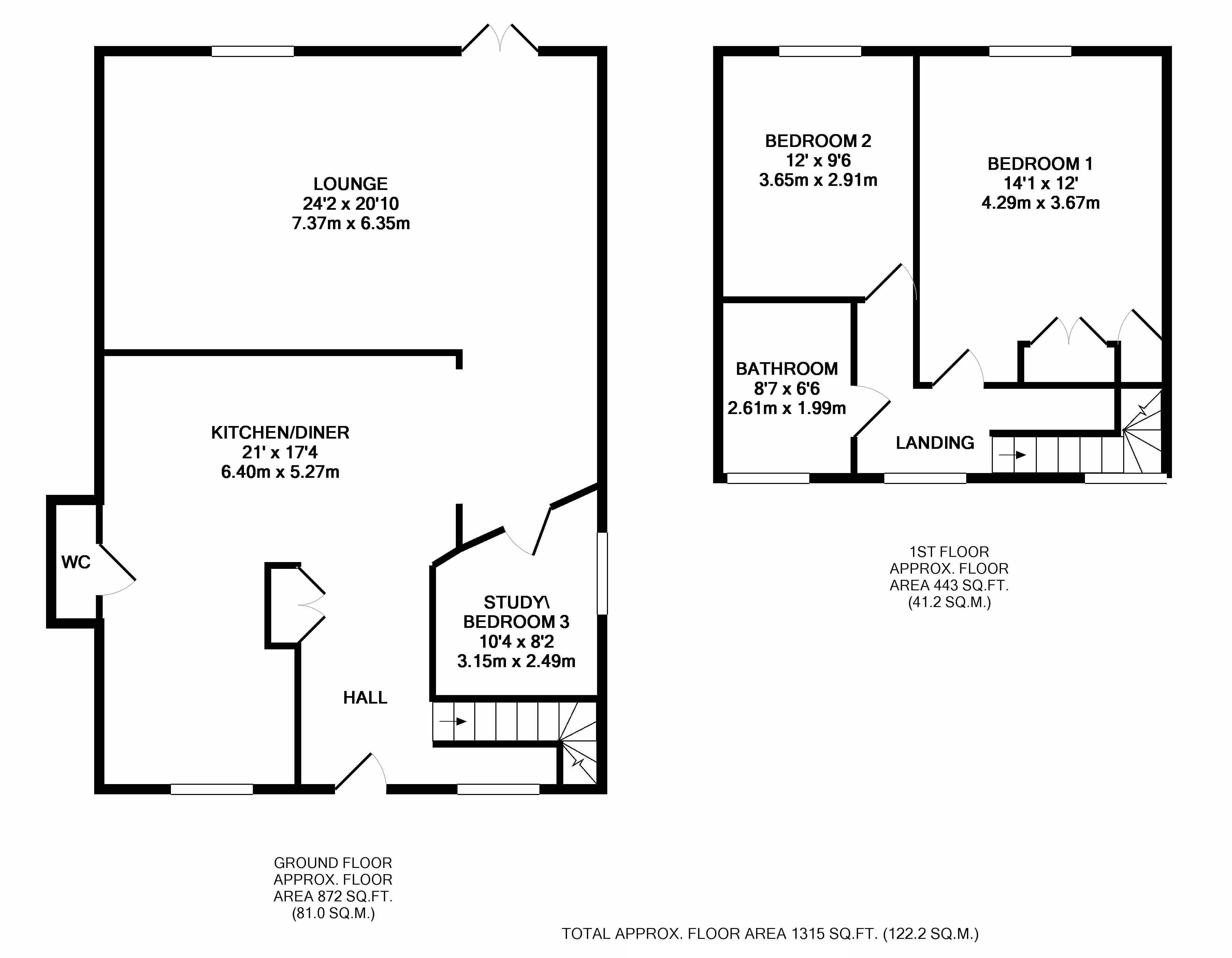london road luton lu1 3 bedroom detached house for sale