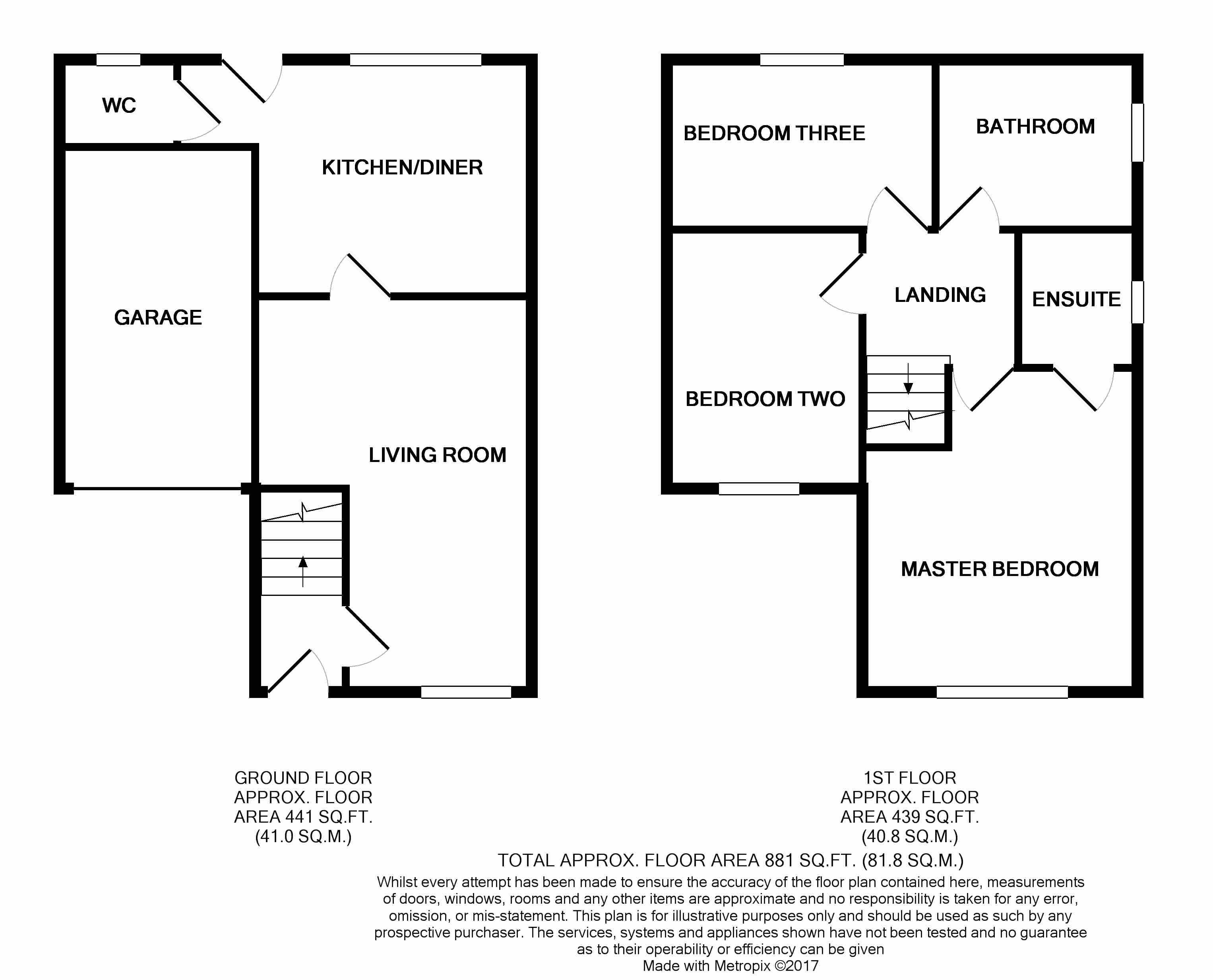 Walton crescent st helen auckland bishop auckland dl14 for Walton house floor plan