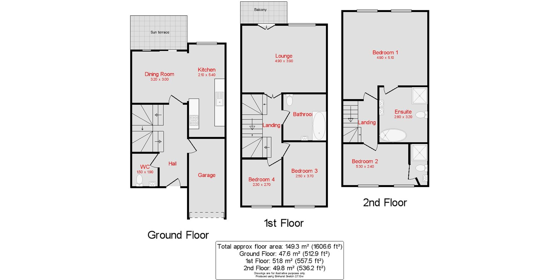 Broad Street Portsmouth Po1 4 Bedroom Town House For