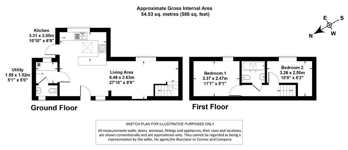 Alexandra Street Tivoli Cheltenham Gl50 2 Bedroom Semi Detached