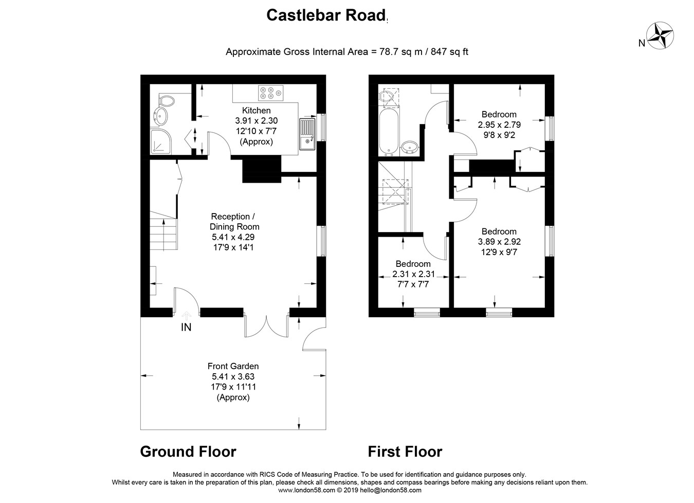 3 Bedrooms  for sale in Castlebar Road, Ealing, London W5
