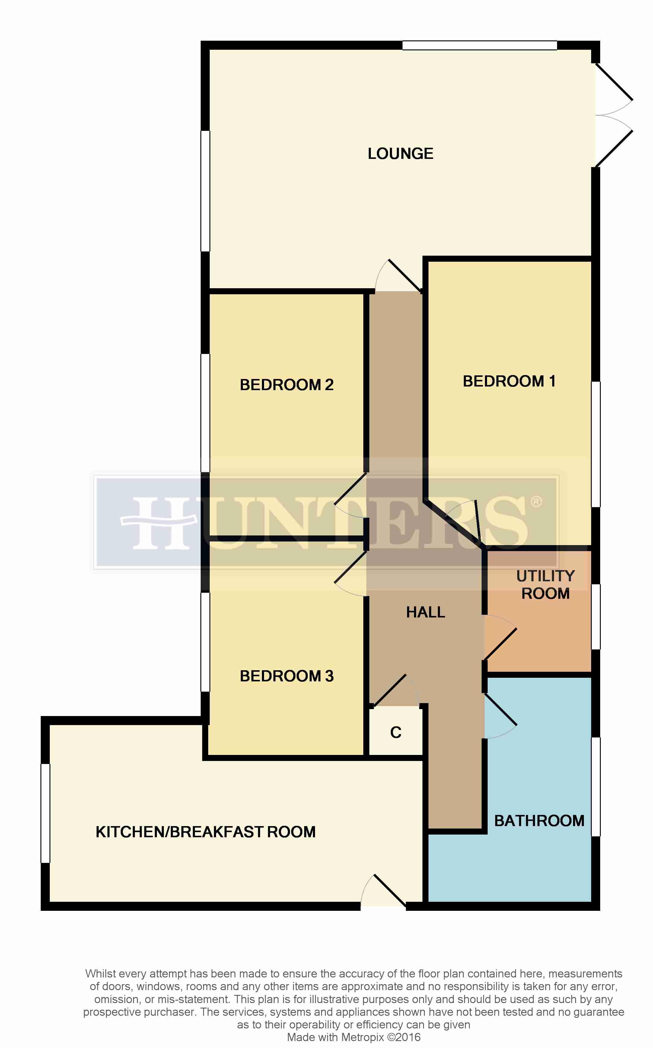 3 Bedroom Detached Bungalow For Sale 41050711