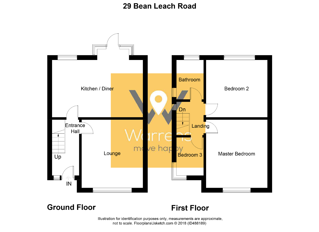 3 Bed Semi Detached House For Sale In Bean Leach Road Hazel Grove Natwest Wiring Instructions Floorplan 1