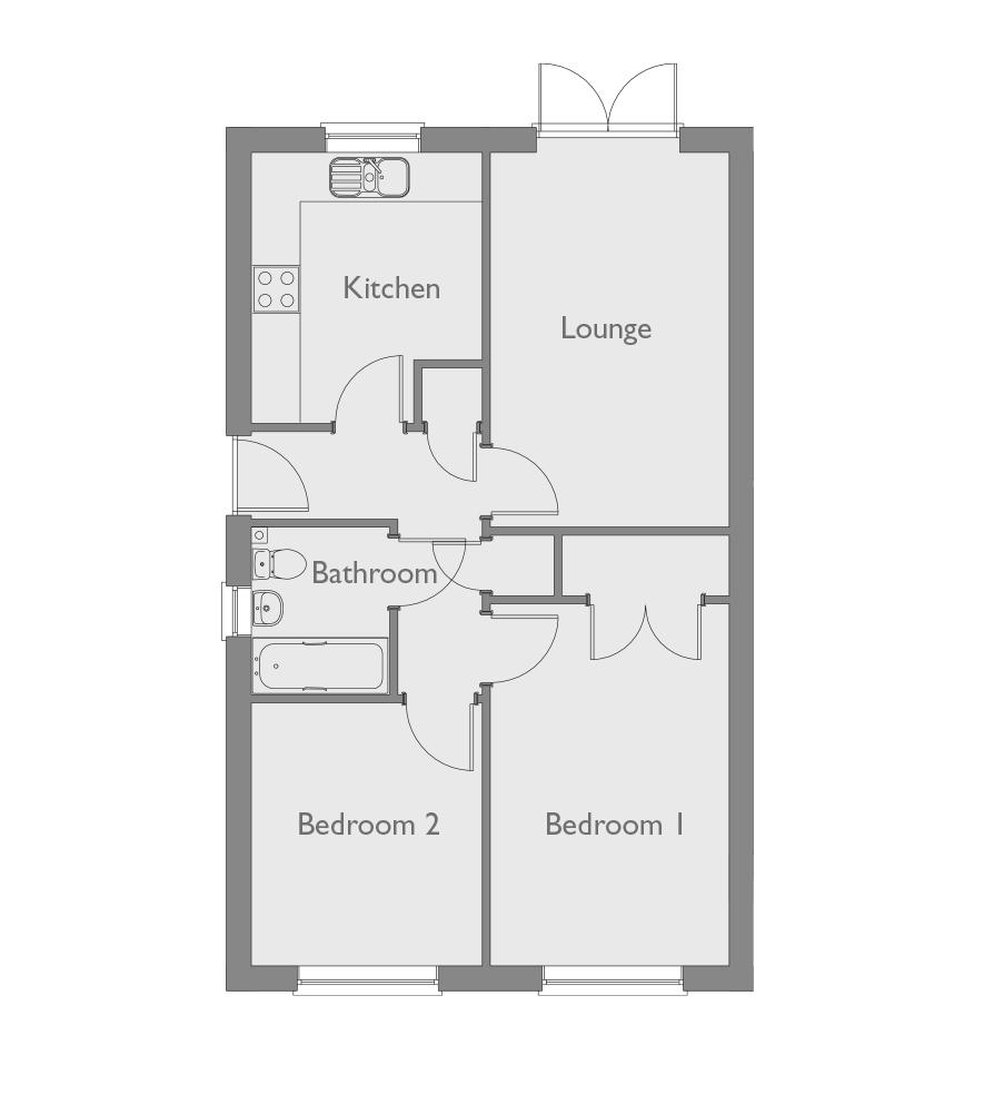 Heritage Green, Kessingland, Lowestoft NR33, 2 Bedroom