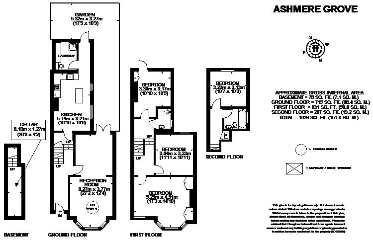 4 Bedrooms End terrace house to rent in Ashmere Grove, London SW2