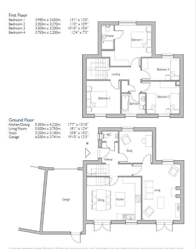 4 Bedroom Link Detached House For Sale 45120782