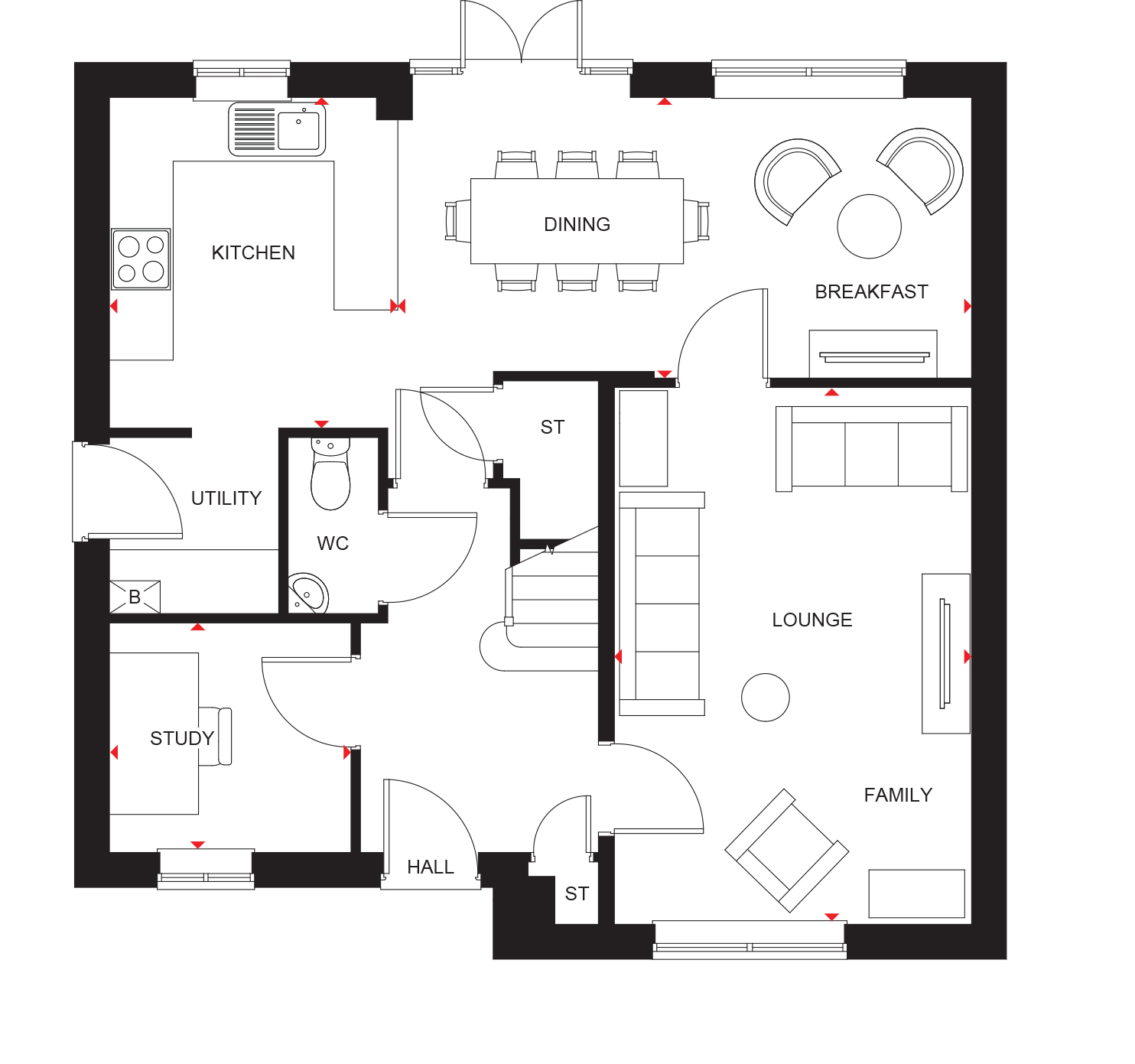 Radleigh At Green Lane Yarm Ts15 4 Bedroom Detached House For Sale 52357438 Primelocation