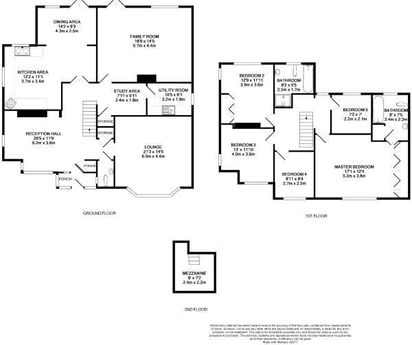 Felbridge West Sussex Rh19 5 Bedroom Detached House For
