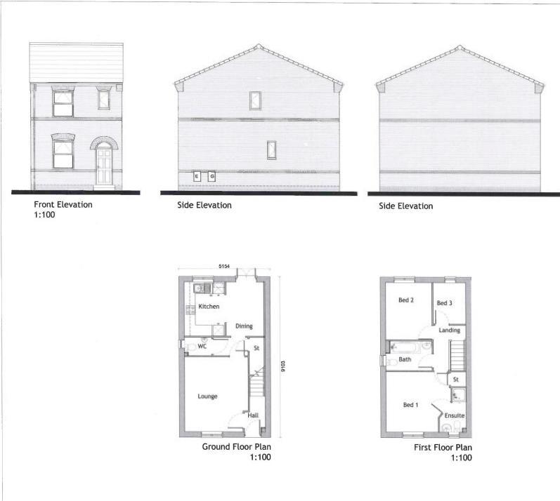 u0026quot the birchwood u0026quot   trafford road  eccles m30  3 bedroom detached house for sale