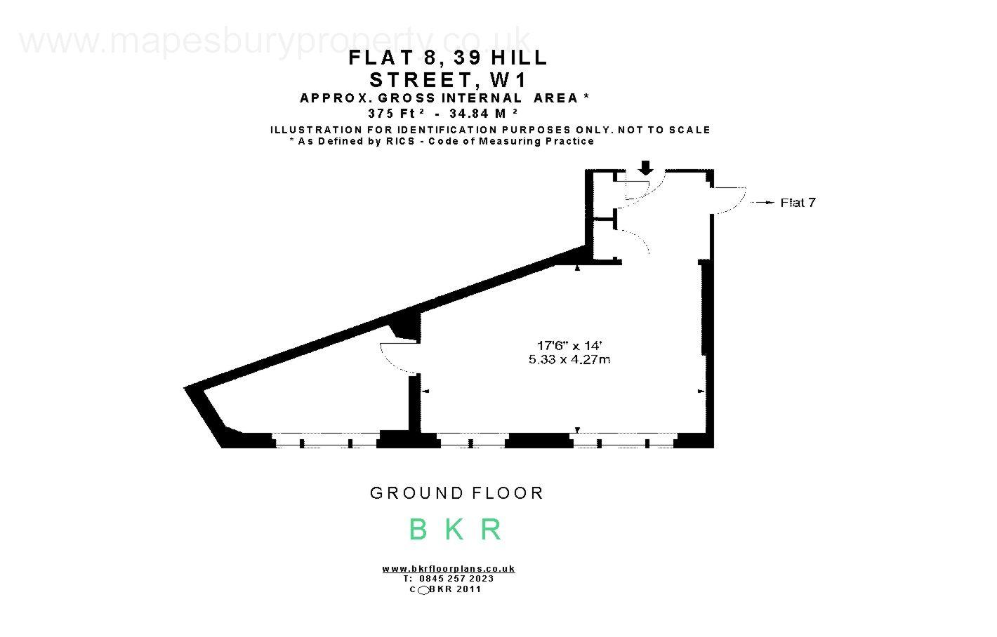 Hill Street Mayfair W1j 2 Bedroom Flat To Rent