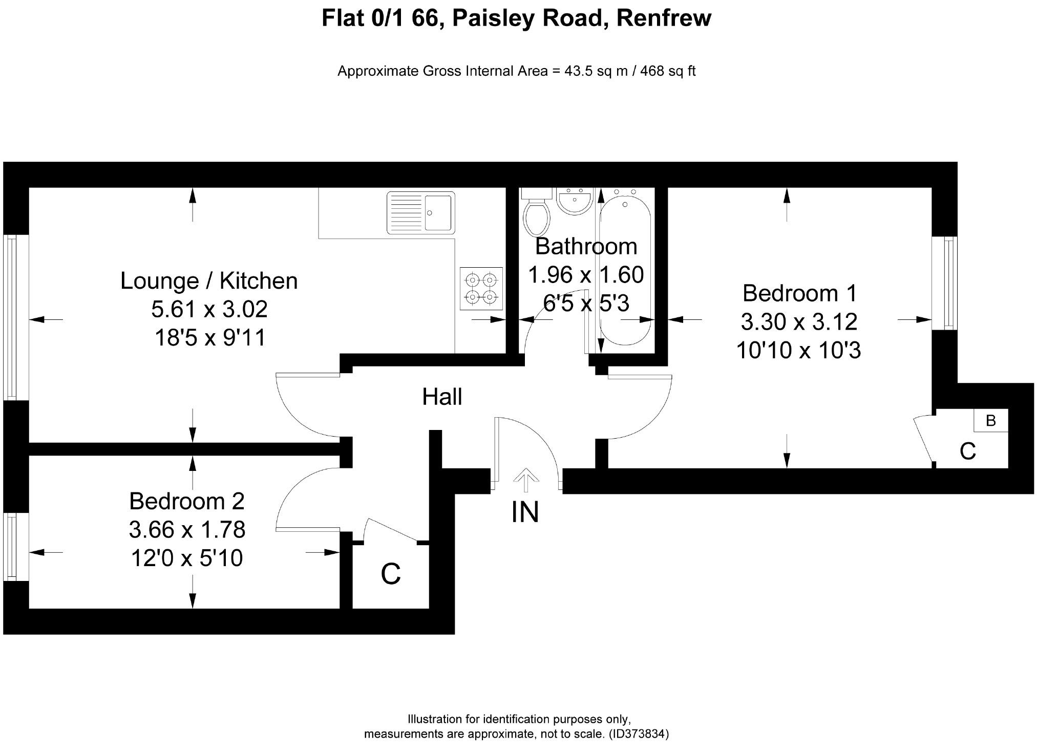 Property For Sale Arkleston Road Glasgow