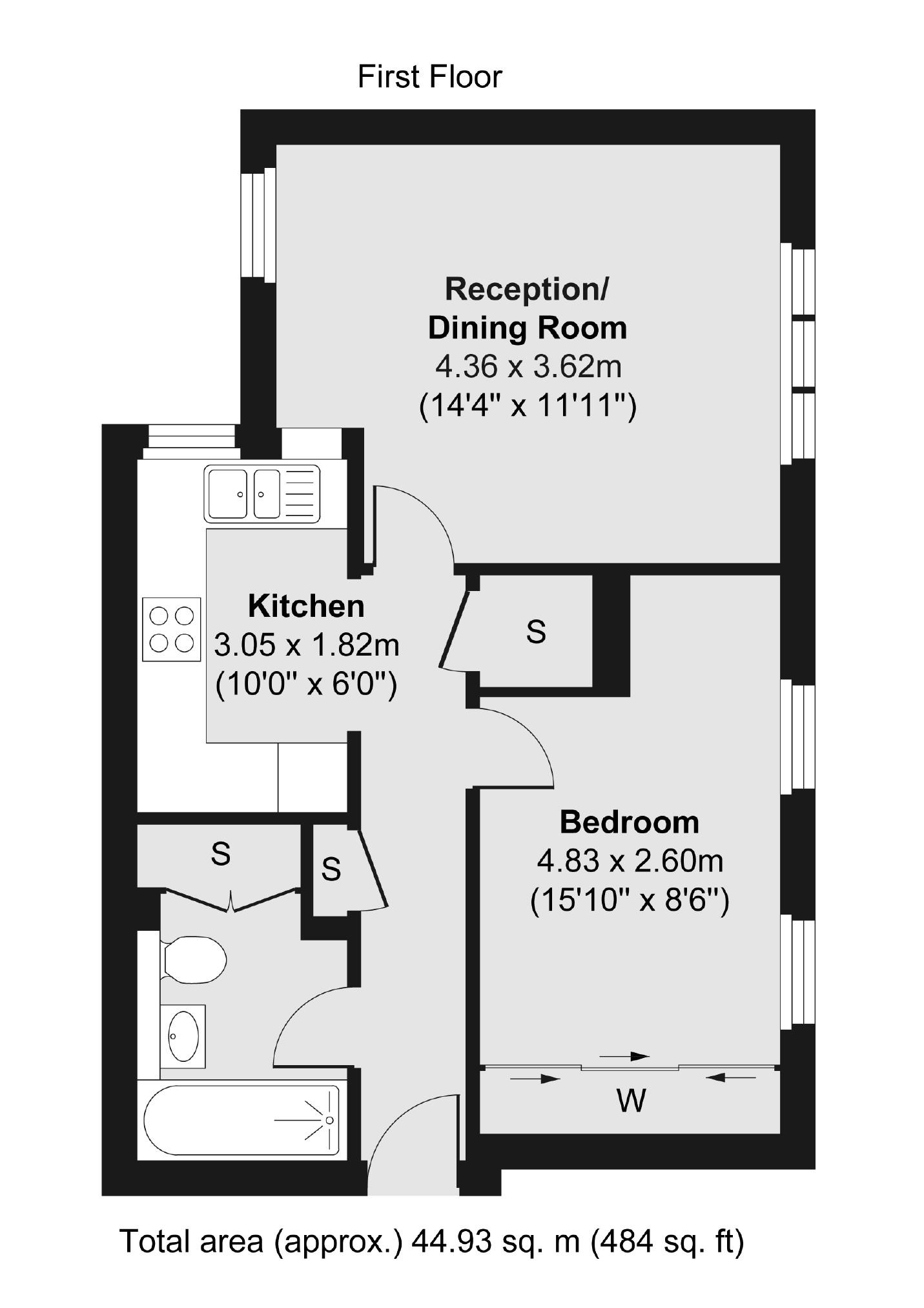 Pakenham Close London Sw12 1 Bedroom Flat For Sale 56886693 Primelocation