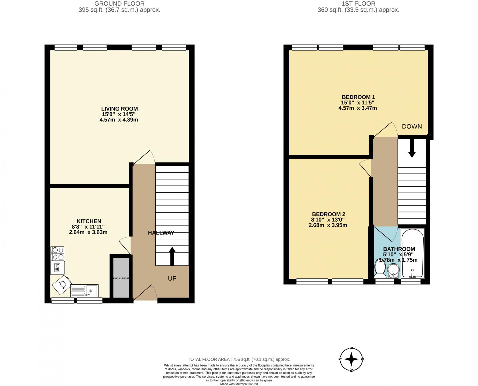 Northumberland Park London N17 2 Bedroom Maisonette For Sale 52238613 Primelocation
