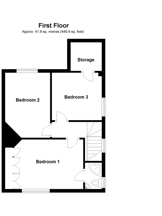 floor plan layout 3 bedroom semi detached house for 44494579 11705